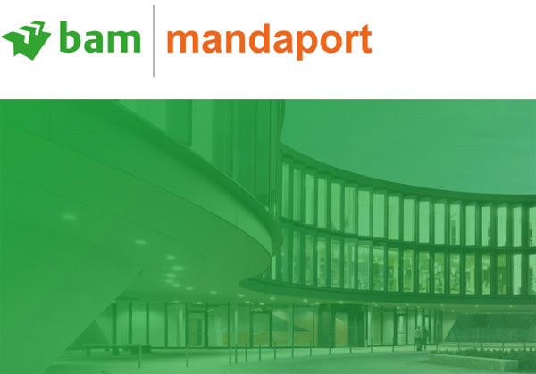 Screenshot BAM Mandaport